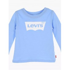 Levi Infant Batwing Long Sleeve T-Shirt - Pale Blue