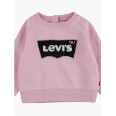 Levi Infant Batwing Jumper - Pink