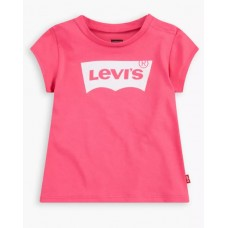 Levi Kids Classic Batwing  Short Sleeve T-Shirt - Pink