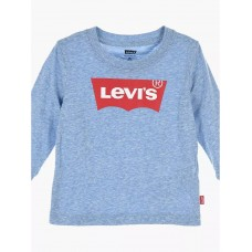 Levi Infant Batwing Long Sleeve T-Shirt - Blue Marl
