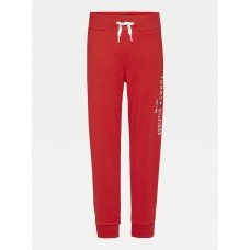 Tommy Hilfiger Boys Classic Tapered Jogger - Red