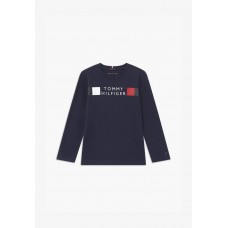 Tommy Hilfiger Boys Long Sleeve T-Shirt - Navy