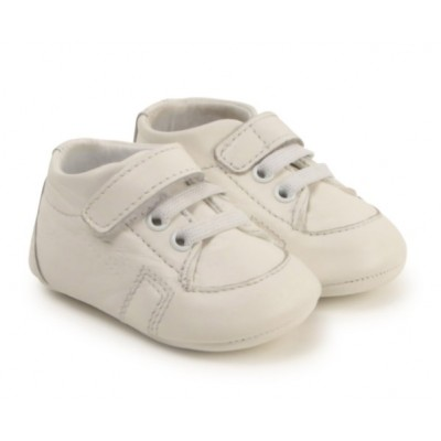 ~Hugo Boss Crib Boot - White