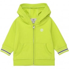 Timberland Infant Zip Hooded Jumper - Lime Green