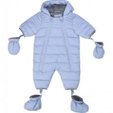 Timberland Infant Snow Suite - Pale Blue