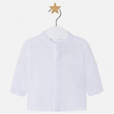 ~Mayoral Baby Boys Grandad Shirt - White