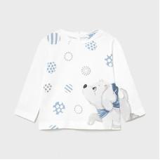 Mayoral Infant Girls Puppy T-Shirt - White