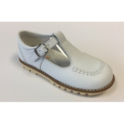 ~Andanines Boys Shoe - White