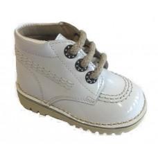 ~Andanines Unisex Boot - White