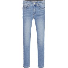 Calvin Klein Girls Skinny Denim - Light Wash