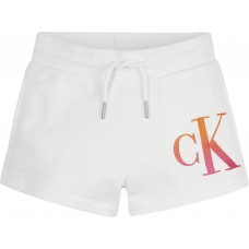 Calvin Klein Girls Shorts - White