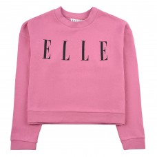 Elle Crew Neck Jumper - Pantone/Black