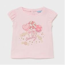 Mayoral Infant Girls Lollipop T-Shirt - Pink