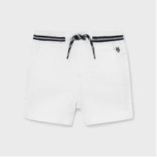 Mayoral Infant Boys Short - White