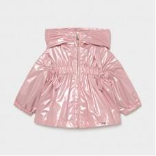 Mayoral Infant Girls Jacket - Metallic Pink