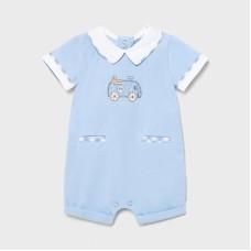 Mayoral Baby Boys Romper - Pale Blue