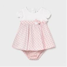 Mayoral Baby Girls 2 Piece Dress Set - Pink