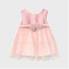 Mayoral Infant Girls Dress - Pink