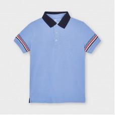 Mayoral Kids Boys Short Sleeve Polo - Blue