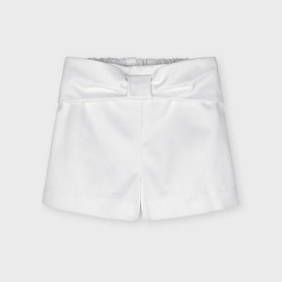 Mayoral Kids Girls Skort - White