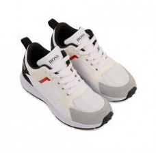 Hugo Boss Footwear Lace Trainer - White