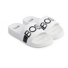 Hugo Boss Footwear Sliders - White