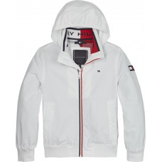 Tommy Hilfiger Boys Windbreaker Jacket - White