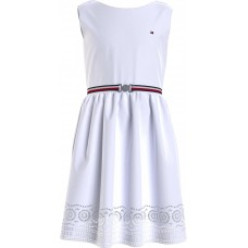Tommy Hilfiger Girls Dress - White